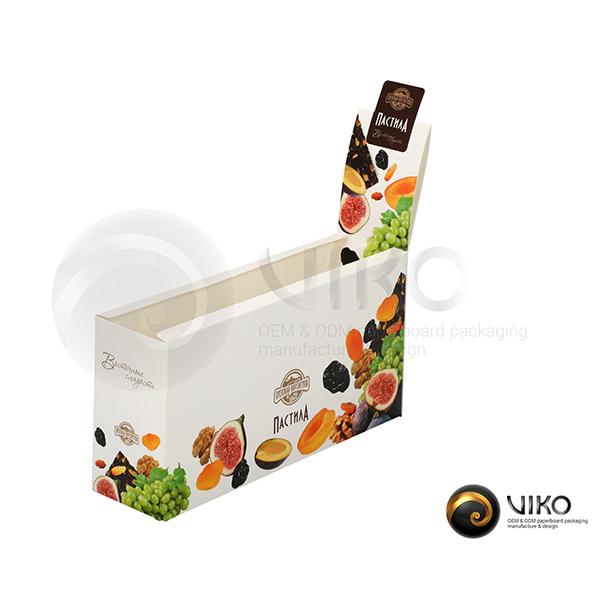 """Картонная упаковка для конфет / Для конфет / Картонная упаковка для конфет """"Пастила"""" 245*165*65 мм"""