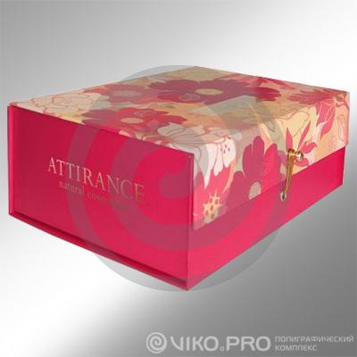 Подарочная упаковка книжка-клапан Attirance