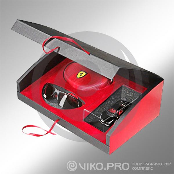 Подарочная картонная шкатулка Ferrari