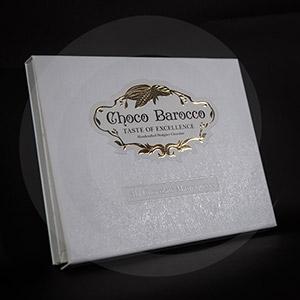 Книжка-клапан / Подарочная упаковка книжка-клапан Choco Barocco