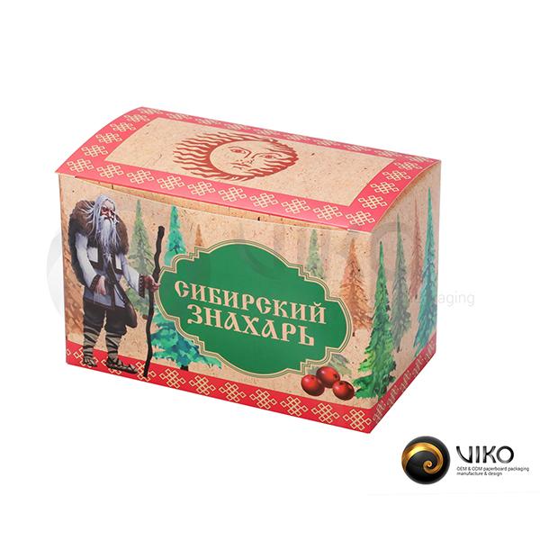 Упаковка для чая Сибирский знахарь 160*100*90 мм