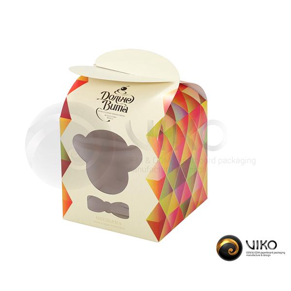 """Картонная упаковка для конфет """"Дольче Вита"""""""