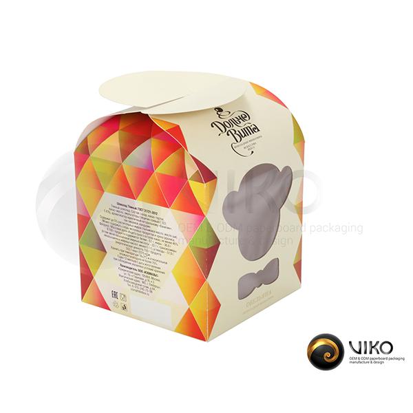 "Картонная упаковка для конфет / Для конфет / Картонная упаковка для конфет ""Дольче Вита"""