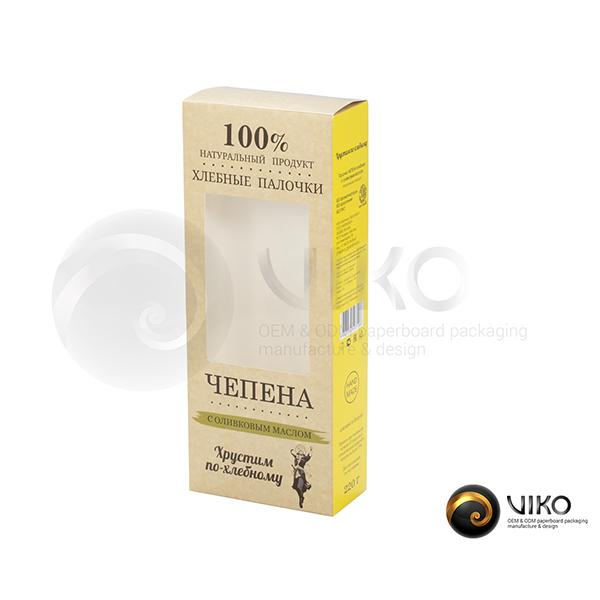 Упаковка для печенья Чепена 250*100*50 мм