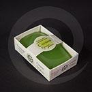 """Картонная упаковка для мыла ручной работы """"Крымские травы"""" 80х50х25 мм"""