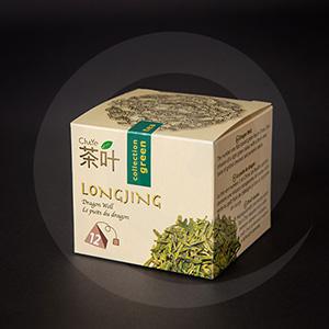 Чай и кофе / Для чая / Упаковка для пакетированного чая LONGJING 80х80х70мм