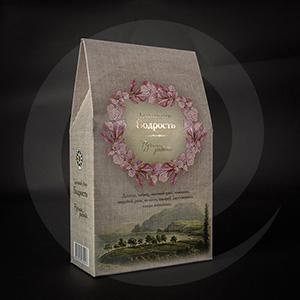 Чай и кофе / Для чая / Упаковка для рассыпного травяного чая Бодрость 220*130*60мм