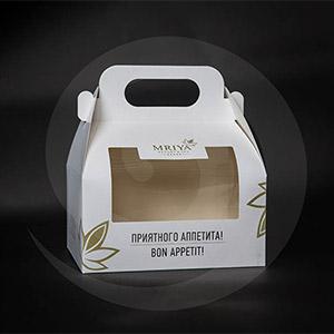 Кондитерская продукция / Для тортов / Картонная упаковка MRIYA 200х150х100 мм