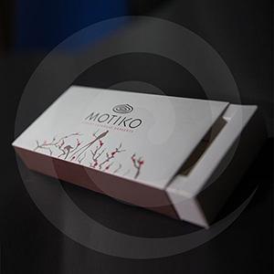 Кондитерская продукция / Подарочная упаковка / Картонная упаковка для конфет MOTIKO 225х105х45 мм