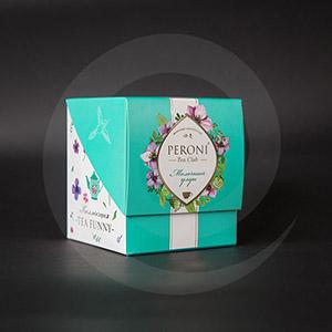 Чай и кофе / Подарочная упаковка для чая и кофе / Подарочная упаковка для чая PERONI